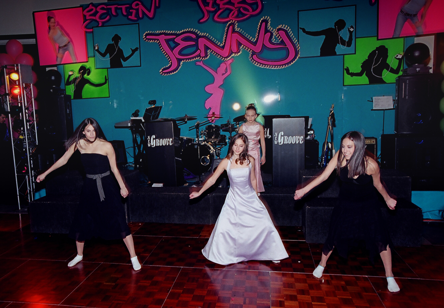 Teenager celebrates her bat mitzvah at the Highland Park Country Club event venue