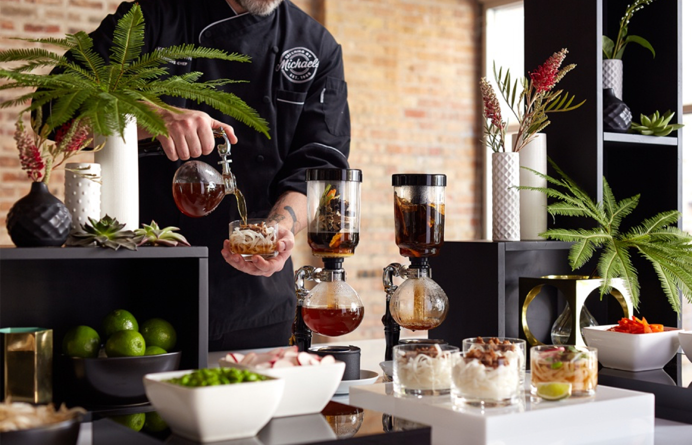 Creative action stations to impress your wedding, social and corporate guests in Chicago catering